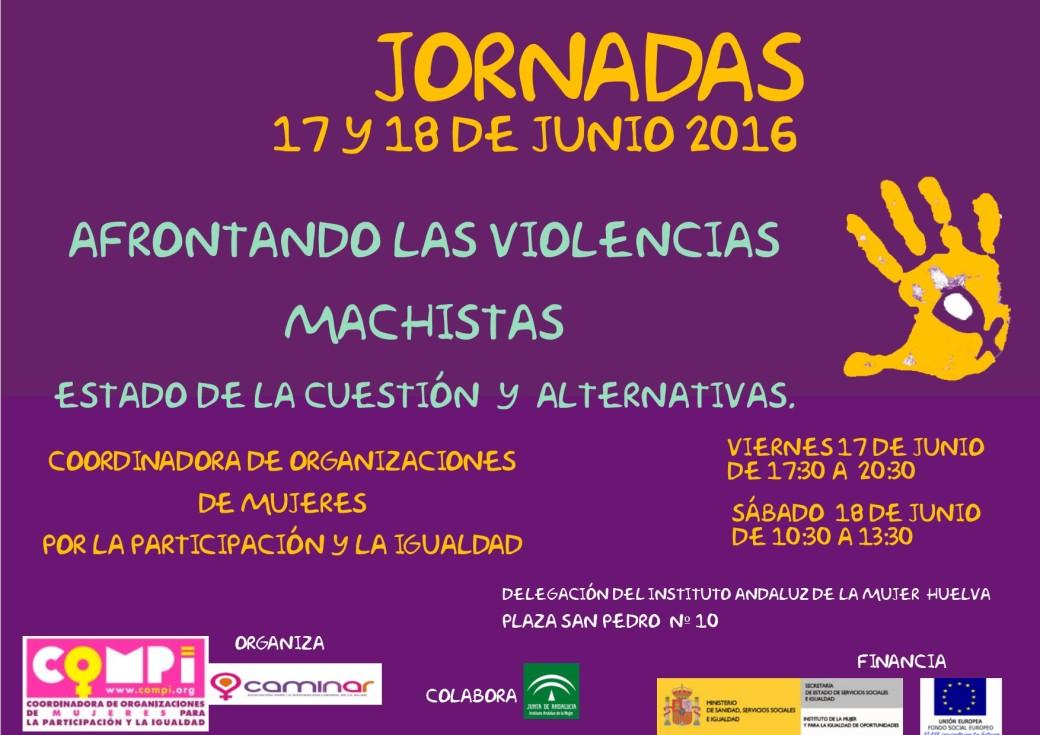 Cartel Jornadas Huelva